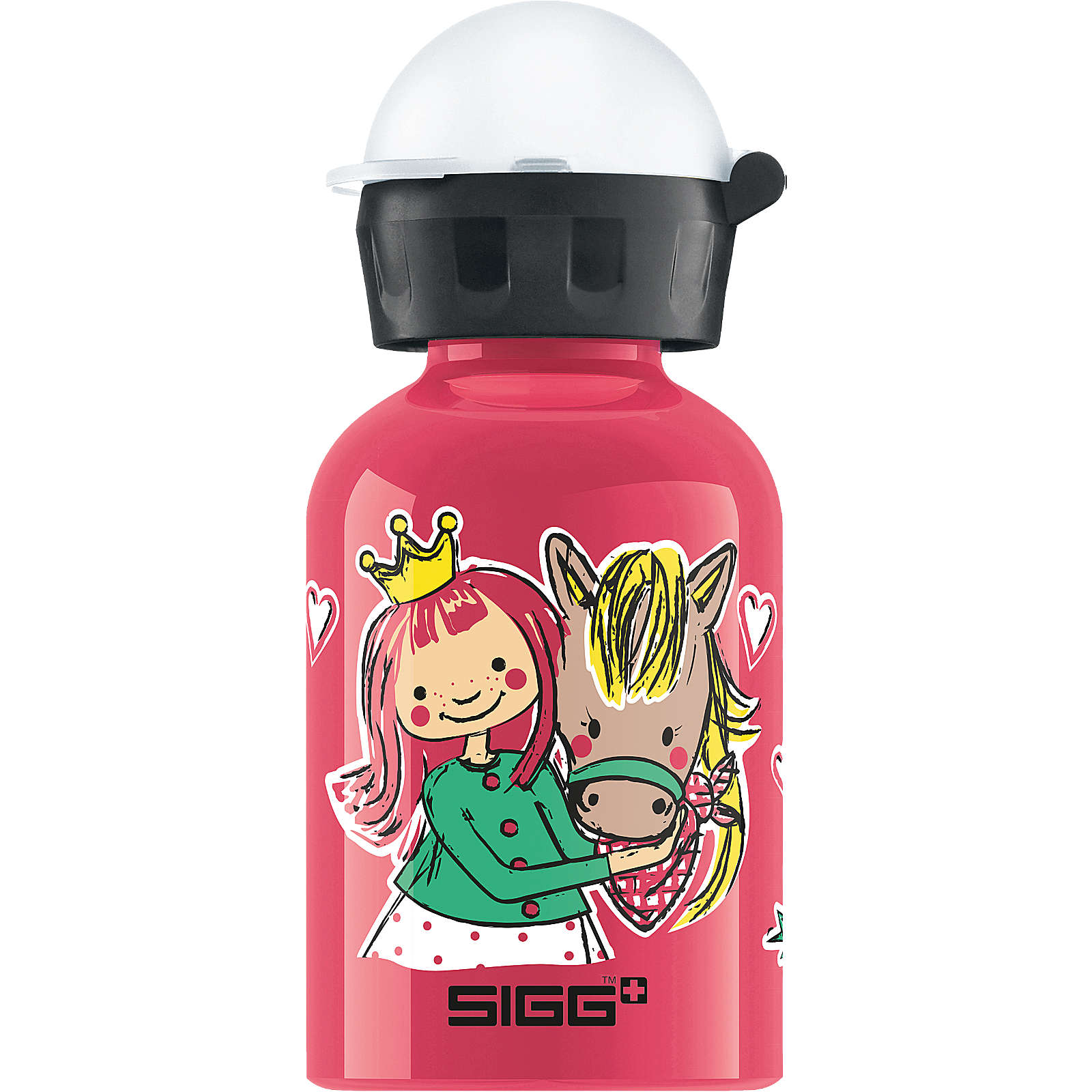 SIGG Alu-Trinkflasche My Lovely Pony, 300 ml pink Mädchen Gr. 300