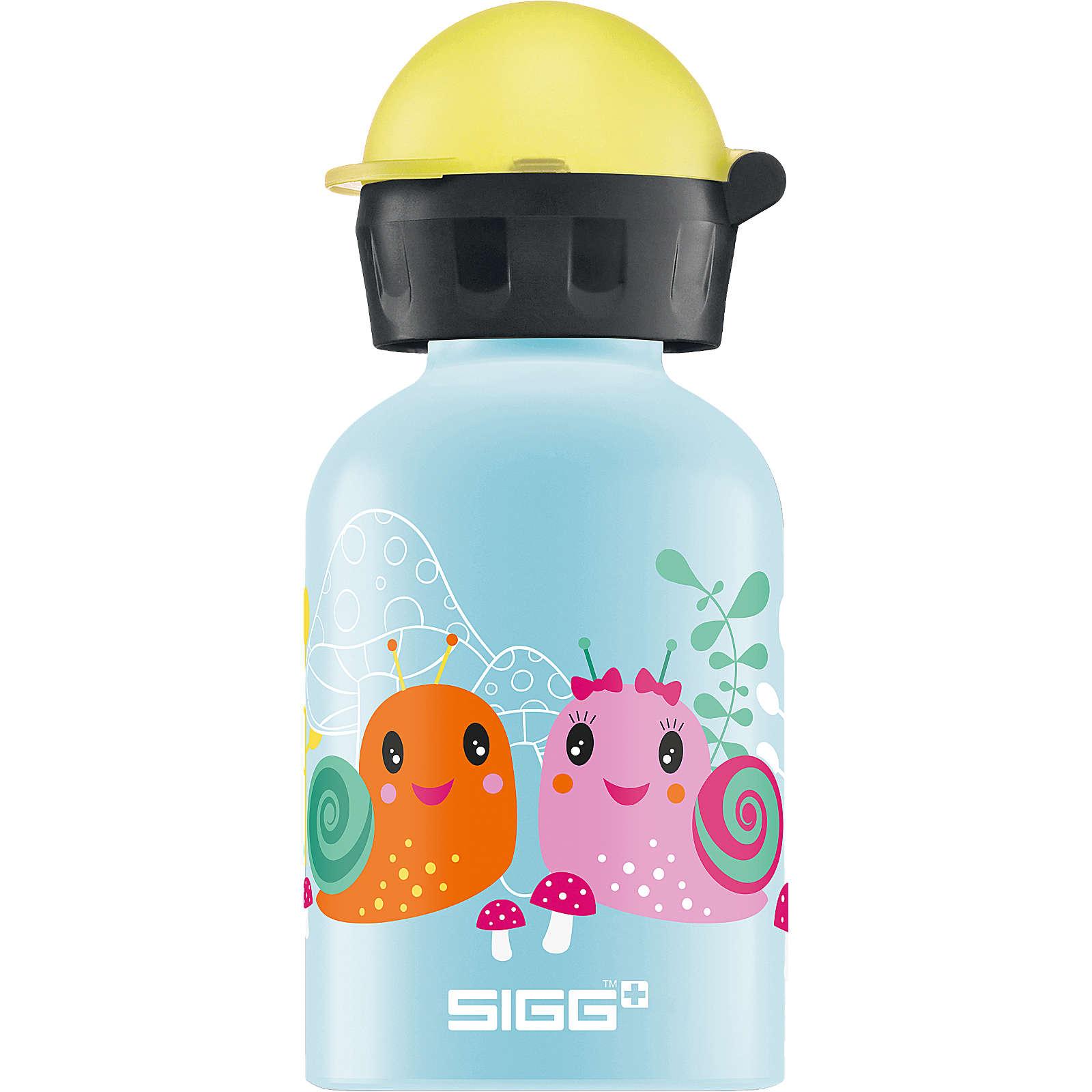 SIGG Alu-Trinkflasche Small World, 300 ml hellblau Mädchen
