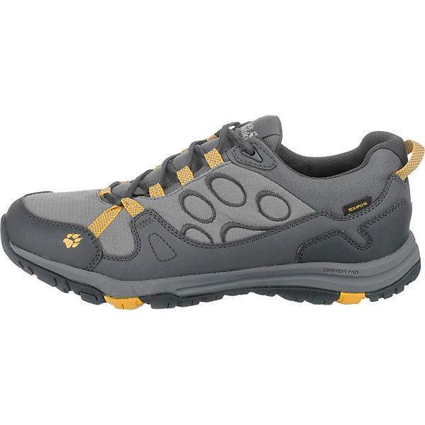 Jack Wolfskin, JACK WOLFSKIN Activate Texapore Low Outdoor Schuhe Qualität wasserdicht, grau-kombi  Gute Qualität Schuhe beliebte Schuhe 89db28