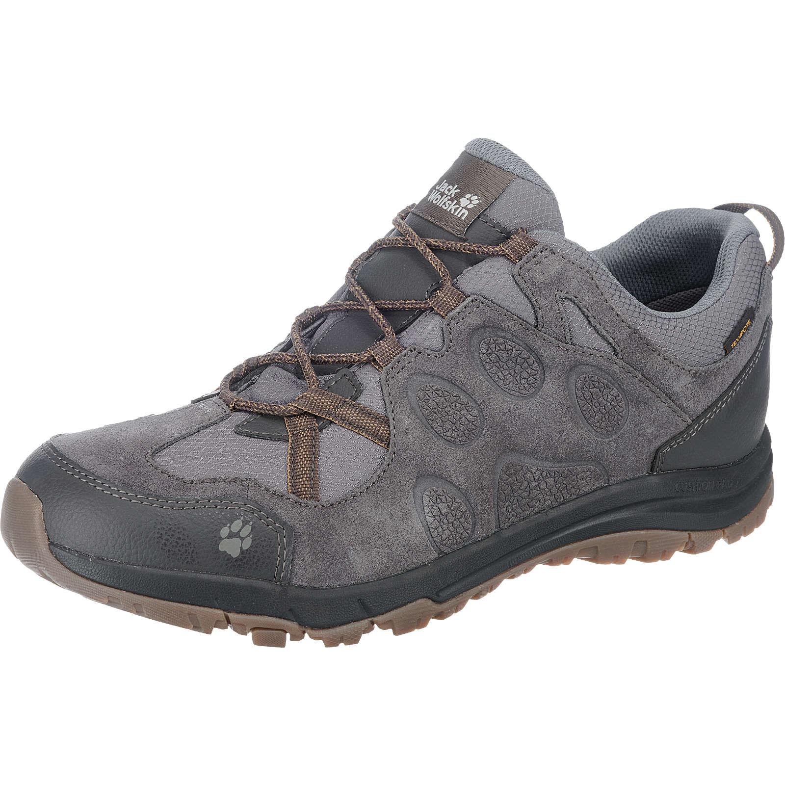 JACK WOLFSKIN Rocksand Texapore Low Outdoor Schuhe wasserdicht grau-kombi Herren Gr. 45,5