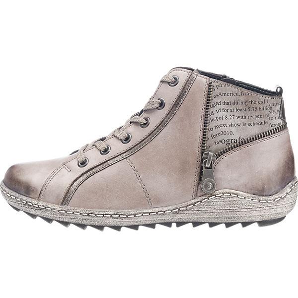 remonte, remonte Stiefeletten, grau  Gute Qualität beliebte Schuhe