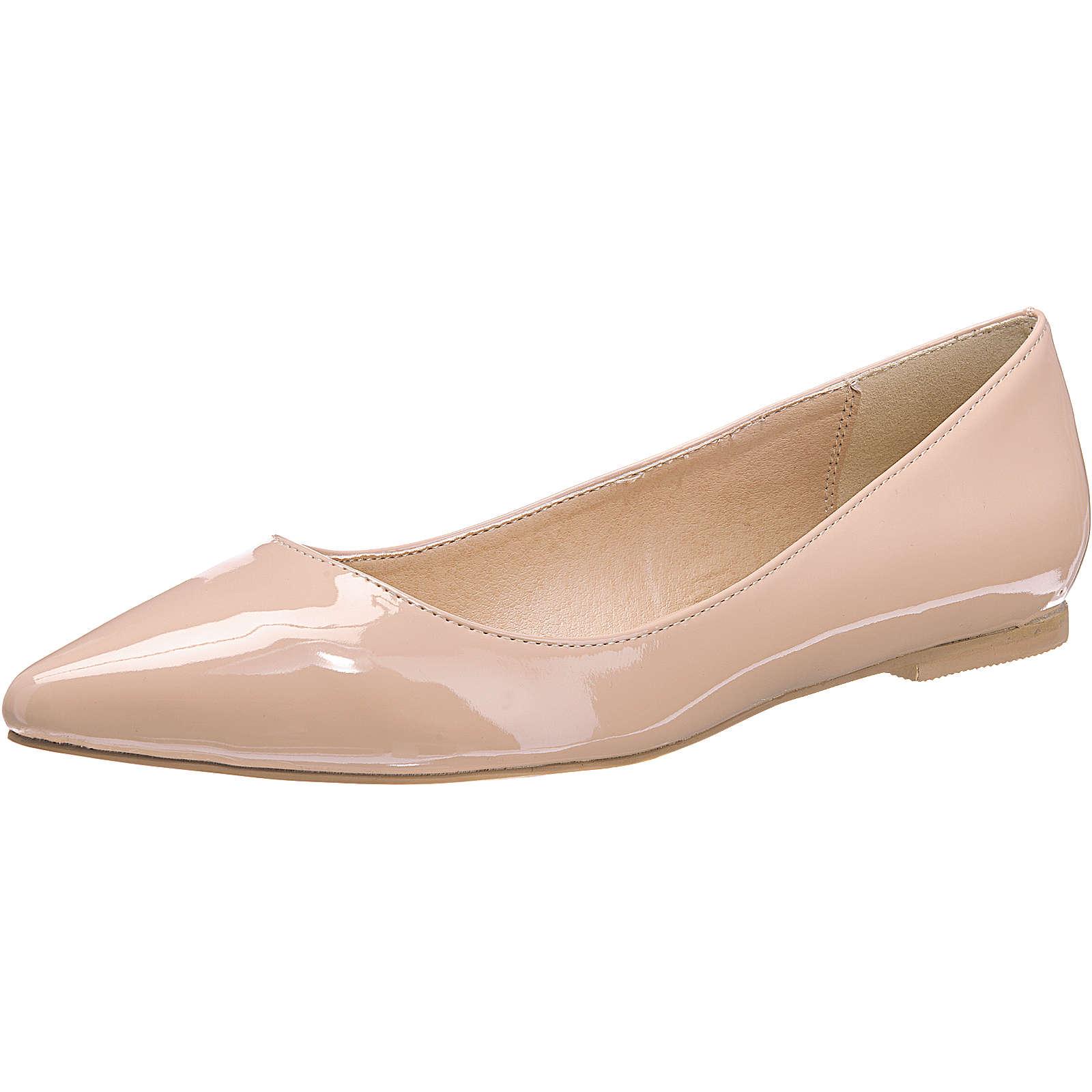 BUFFALO Klassische Ballerinas beige Damen Gr. 36