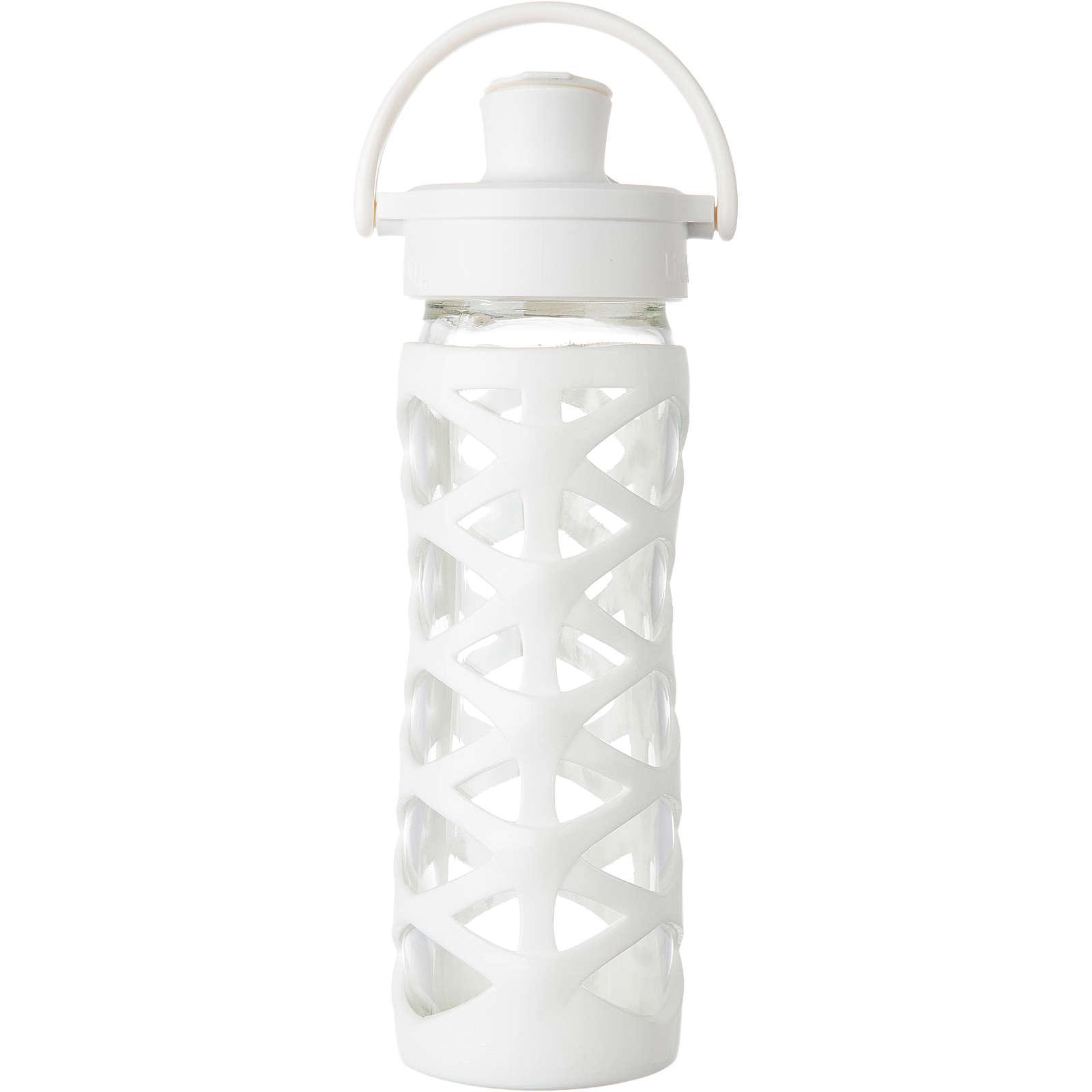 lifefactory trinkflasche glas optic white active flip cap 475 ml wei g nstig schnell einkaufen. Black Bedroom Furniture Sets. Home Design Ideas