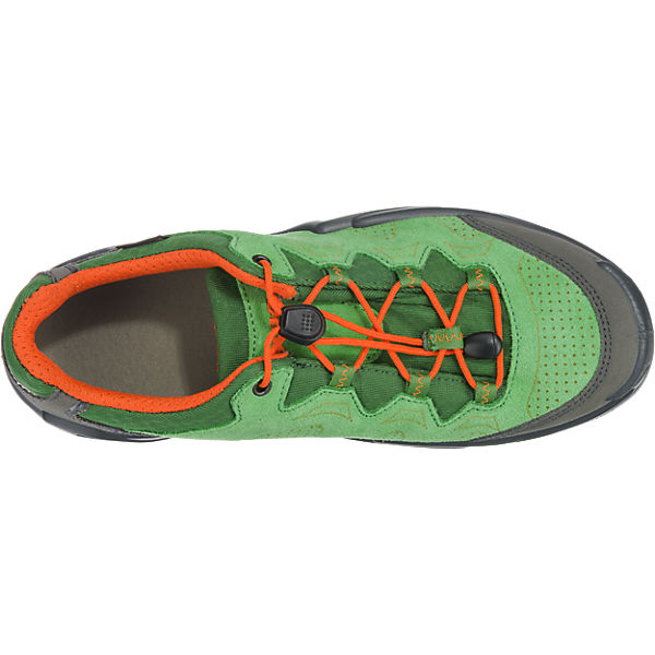 LOWA Kinder Outdoorschuhe DIEGO GTX® LO grün/orange