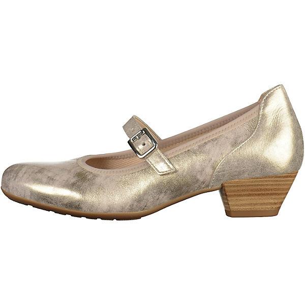 Gabor, Gabor Pumps, gold Schuhe  Gute Qualität beliebte Schuhe gold e1544f