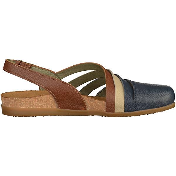 EL  NATURALISTA, Komfort-Sandalen, blau/braun   EL 5b9818