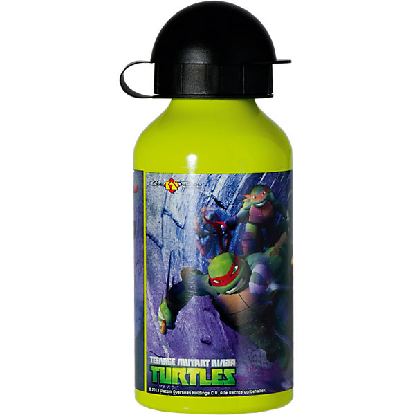 Alu-Trinkflasche Teenage Mutant Ninja Turtles, 400 ml