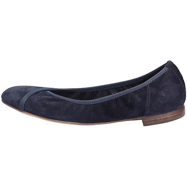 Donna Carolina Donna Carolina Ballerinas blau  Gute Qualität beliebte Schuhe