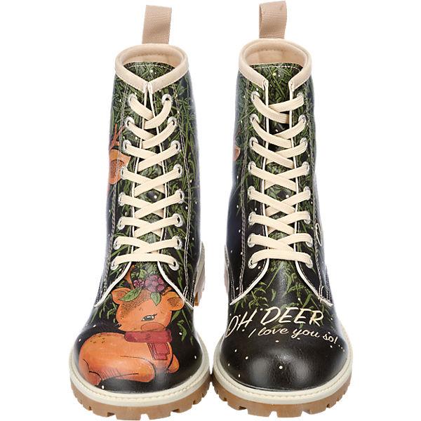 Dogo Shoes Dogo Shoes I Love You So... Stiefel schwarz-kombi Schuhe  Gute Qualität beliebte Schuhe schwarz-kombi 886665