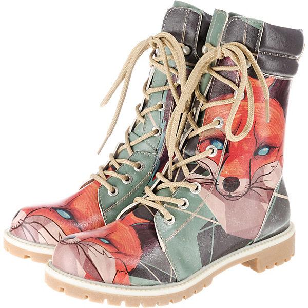 Schlussverkauf hoch gelobt starke verpackung Dogo Shoes, Red Fox Schnürstiefeletten, mehrfarbig