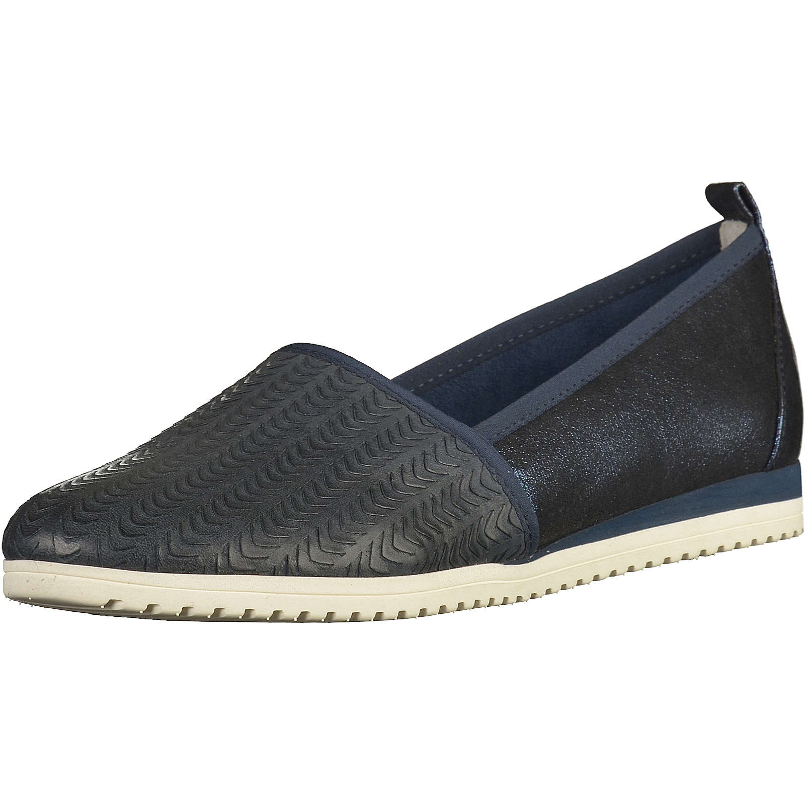 Tamaris Slipper dunkelblau Damen Gr. 36