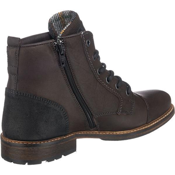 BULLBOXER BULLBOXER Stiefeletten dunkelbraun beliebte  Gute Qualität beliebte dunkelbraun Schuhe b5abc1