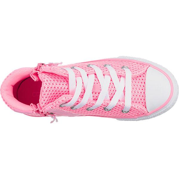 CONVERSE Kinder Sneakers Chuck Taylor All Star Sport Zip rosa