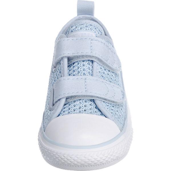 CONVERSE Baby Sneakers Chuck Taylor all Star für Mädchen hellblau