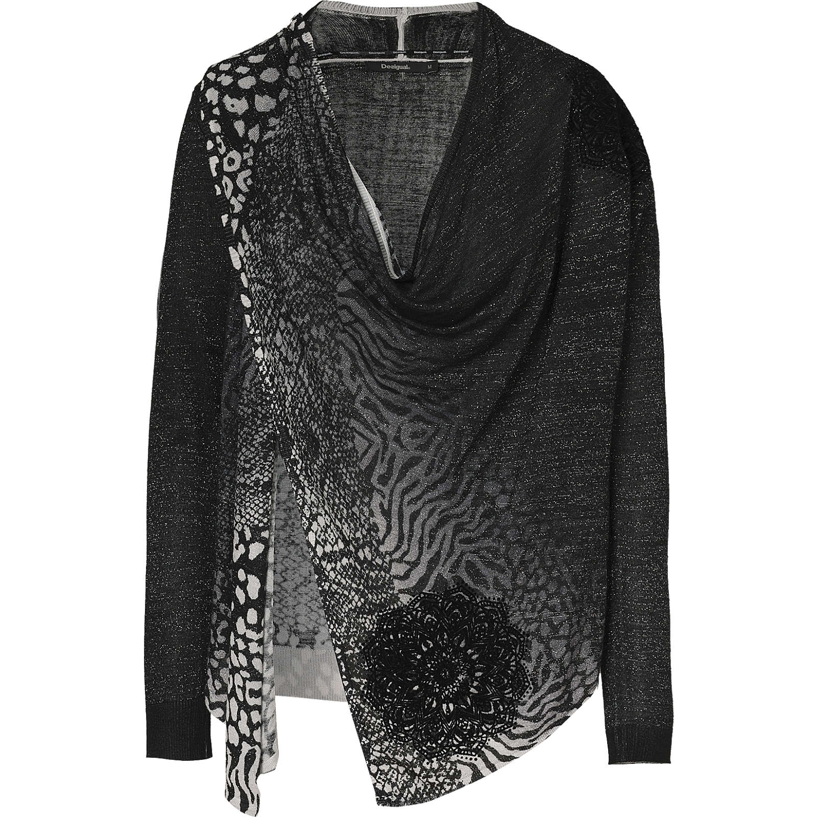 Desigual Pullover schwarz Damen Gr. 36