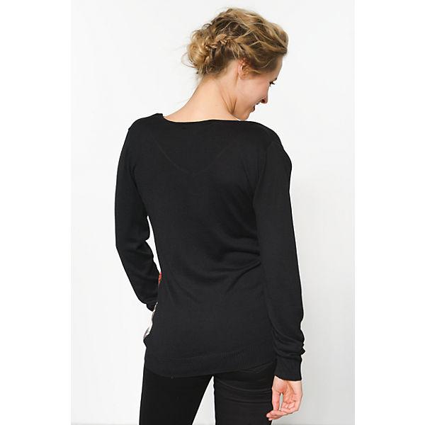Pullover schwarz Pullover Desigual Pullover schwarz schwarz schwarz Desigual Pullover Desigual Pullover Desigual Desigual q4RtS