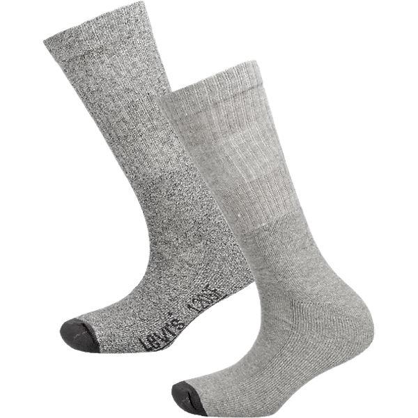 Levi's® 2 Paar Socken grau