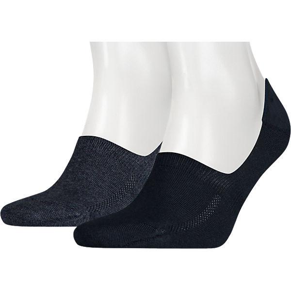 Socken Füßlinge 2 Levi's® Paar Blau 1FTlKJc