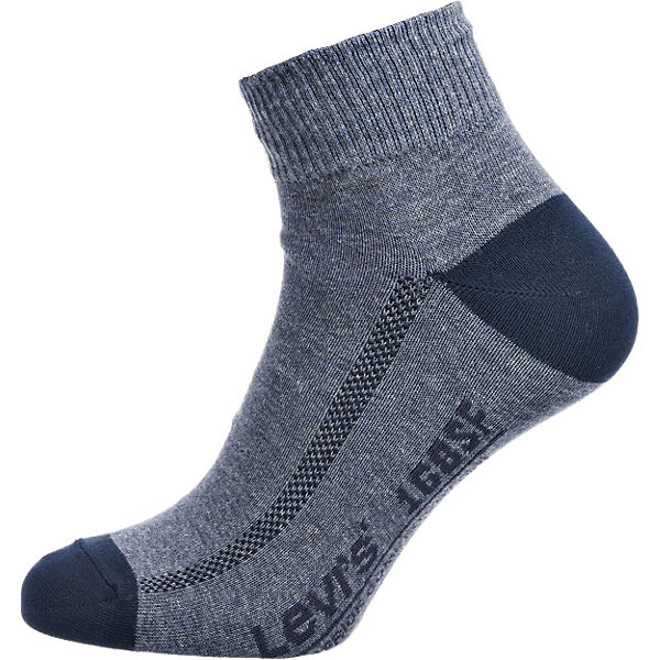 Levi's® blau Kurzsocken Socken 2 Levi's® Paar FqPxdFX