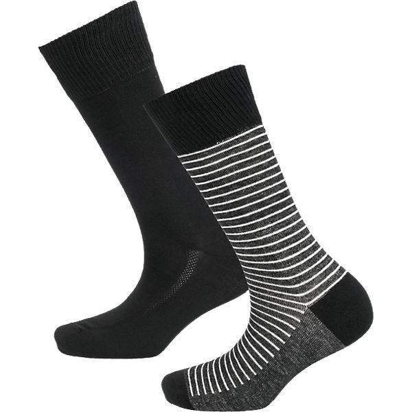 Levi's® schwarz Socken Paar 2 Levi's® 2 O5xYqT85w