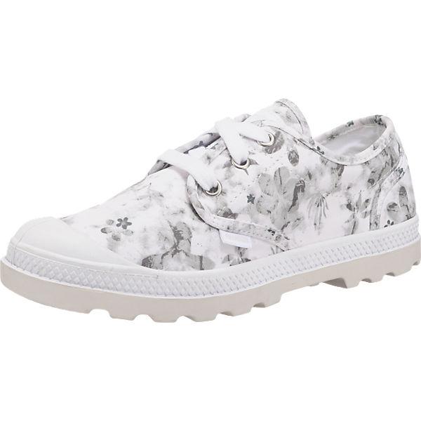 kombi Palladium Pampa Sneakers Oxford Palladium weiß Lp zqFpxwA
