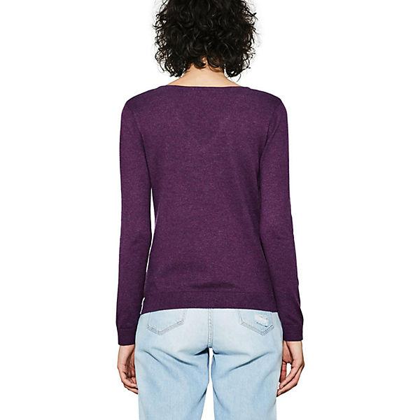 edc ESPRIT by ESPRIT edc lila Pullover Pullover by lila edc rZwq4xpr