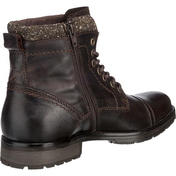 JACK & JONES, Stiefeletten, JACK & JONES Marly Stiefeletten, JONES, dunkelbraun  Gute Qualität beliebte Schuhe 83e40f