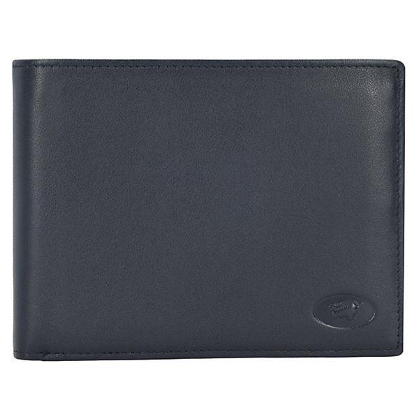 Braun Büffel Arizona Geldbörse Leder 12,5 cm schwarz