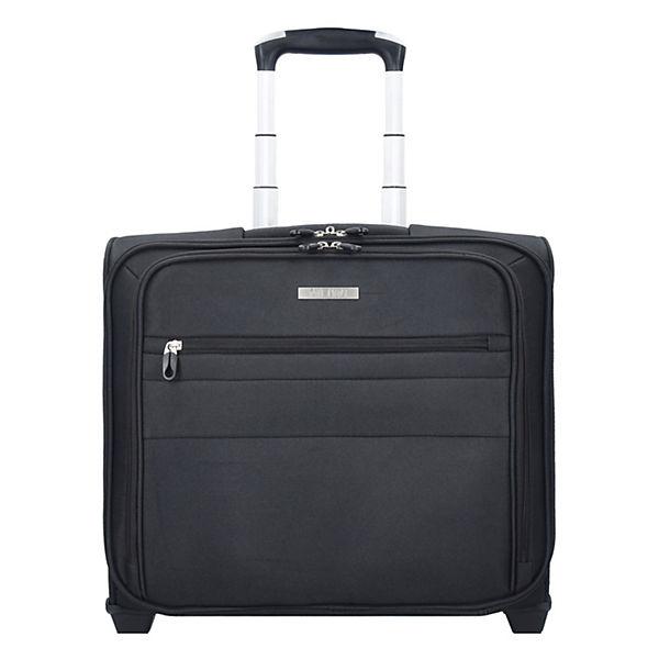 NOWI Cologne 2-Rollen Business Trolley 40 cm Laptopfach schwarz