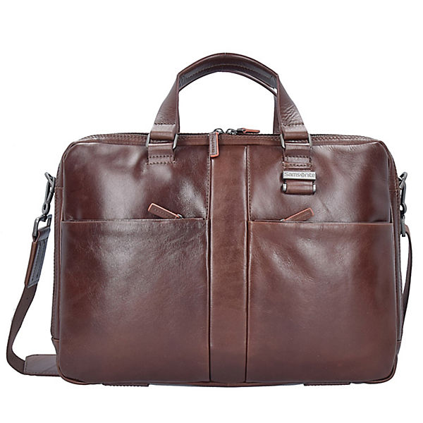 West Harbor Businesstasche Leder 42 cm Laptopfach