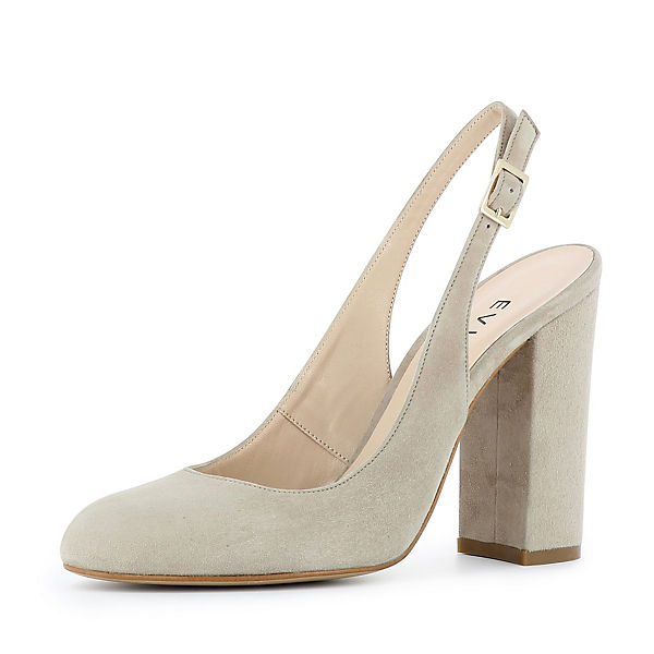 Evita Pumps Shoes Evita Shoes hellgrau 57w0RYx
