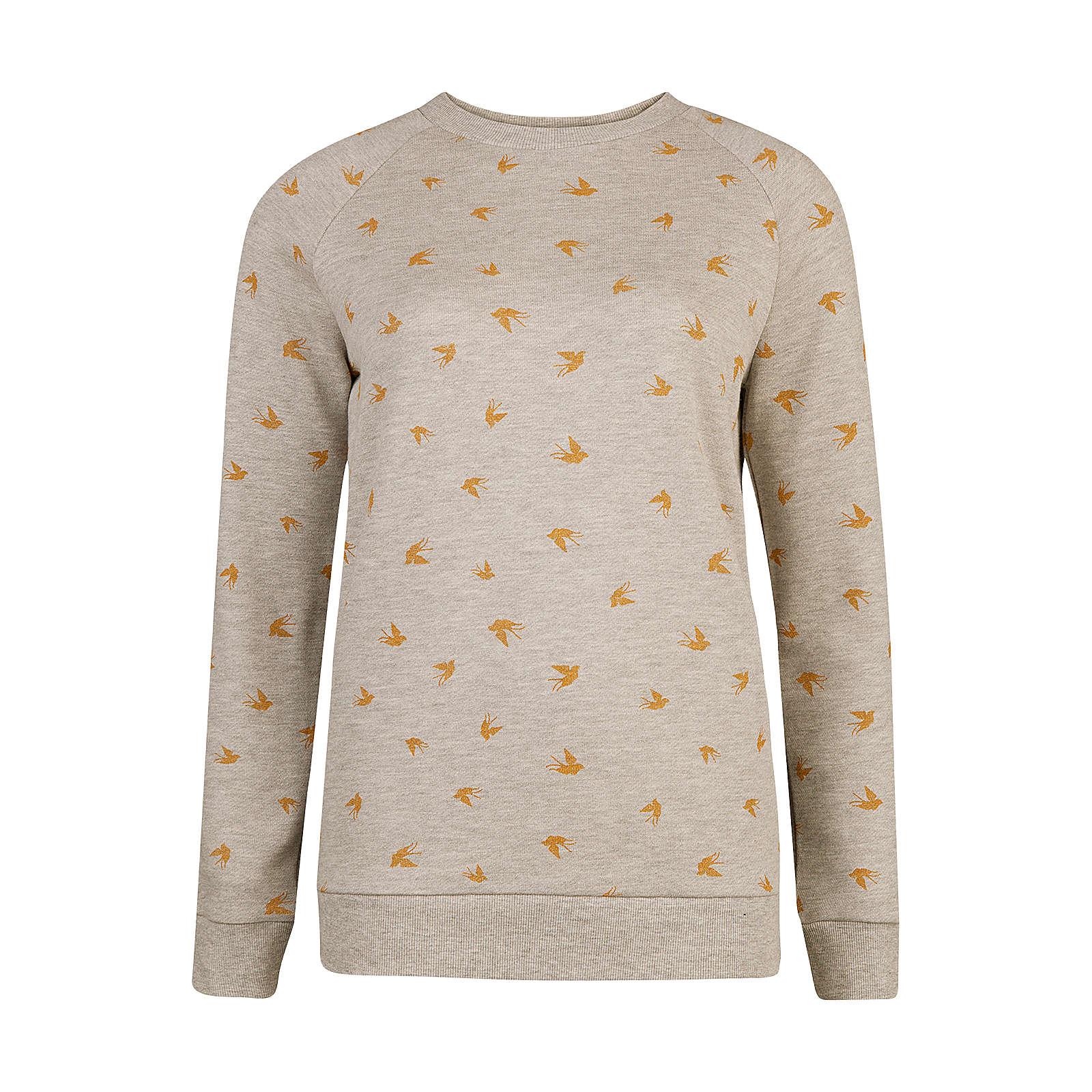 WE Fashion Sweatshirt grau Damen Gr. 34
