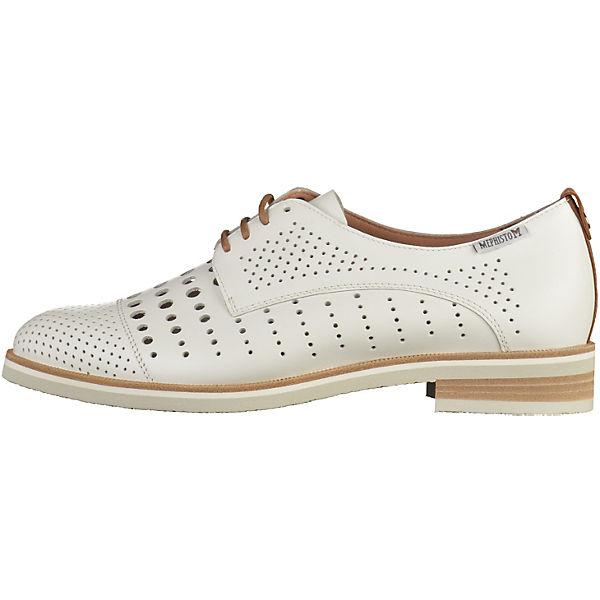 MEPHISTO MEPHISTO Halbschuhe weiß  Gute Qualität beliebte Schuhe