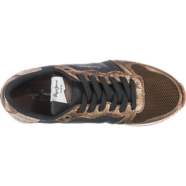 Pepe Jeans Pepe Jeans Gable Top Sneakers gold
