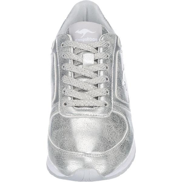 KangaROOS KangaROOS Spoca Shine Sneakers silber