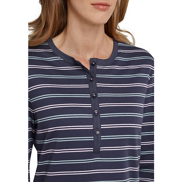 SCHIESSER blau SCHIESSER blau Nachthemd SCHIESSER Nachthemd Nachthemd zqBCnPxd