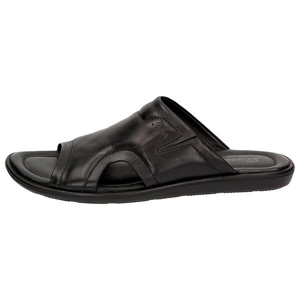 Sioux Sioux Mirano Pantoletten schwarz  Gute Qualität beliebte Schuhe