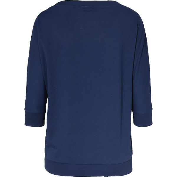 Q 4 S 3 Arm dunkelblau Shirt rqranOwPT