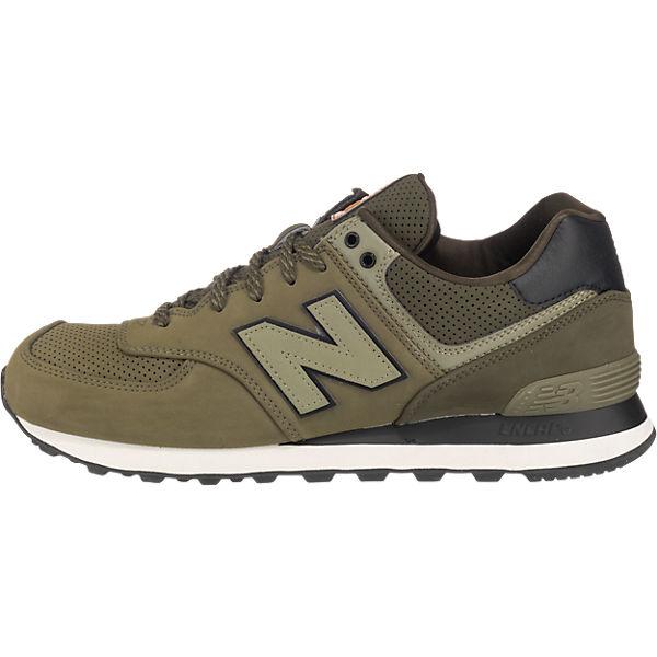 new balance new balance ML574 D Sneakers dunkelgrün