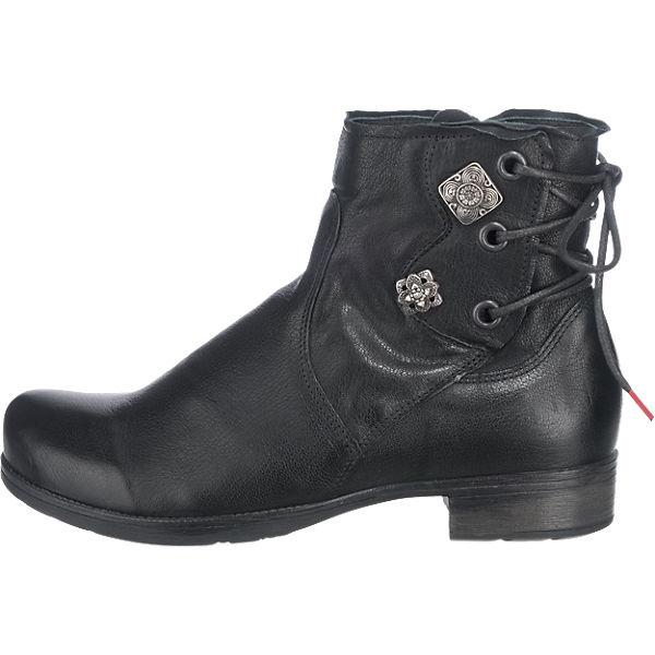 Think! Think! Stiefeletten schwarz  Gute Gute Gute Qualität beliebte Schuhe 6b685a