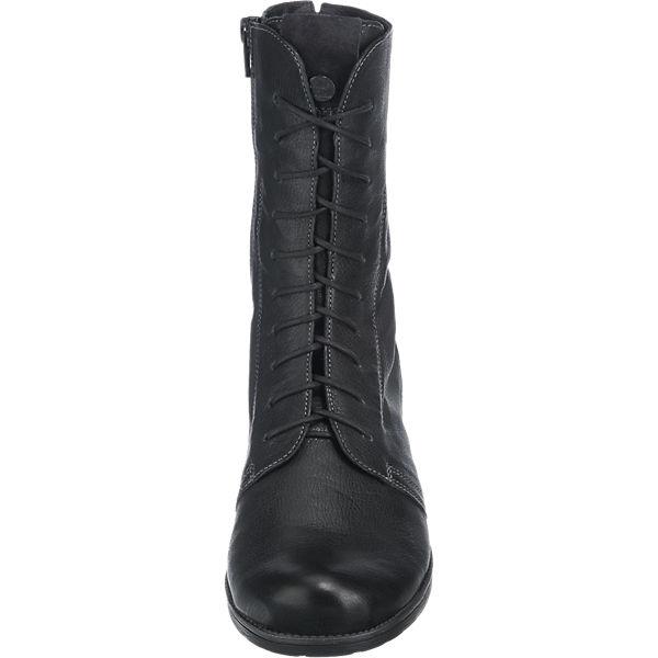 Think! Think! Stiefeletten schwarz    Gute Qualität beliebte Schuhe 6147f0