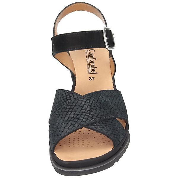 Comfortabel, Comfortabel Sandaletten, schwarz   schwarz  ed7e9a