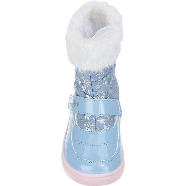 Disney Die Eiskönigin Winterstiefel für Mädchen, TEX, gefüttert hellblau