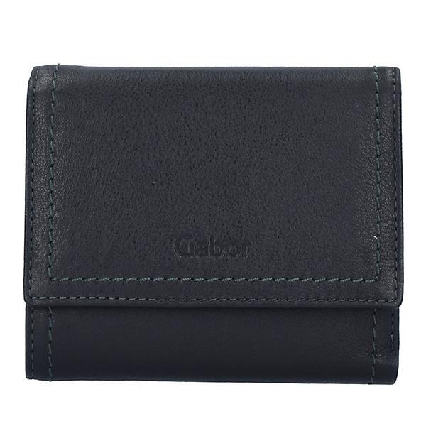Gabor Felia Geldbörse Leder 13 cm schwarz