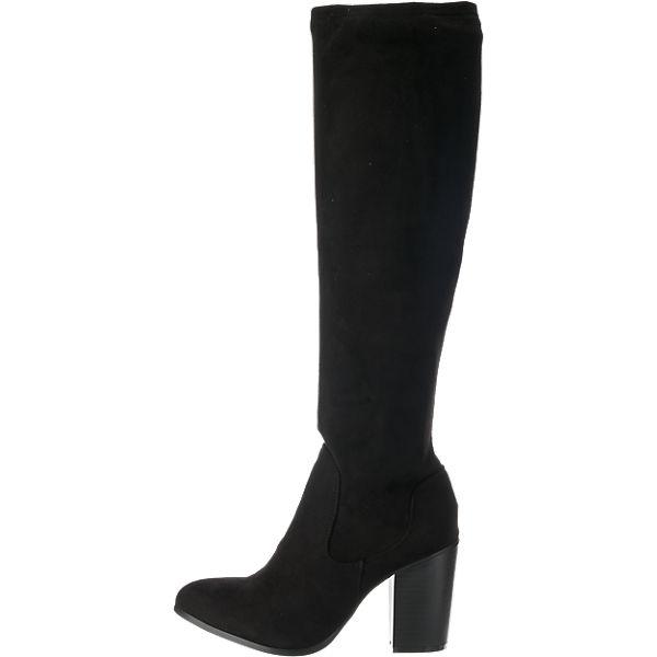 BULLBOXER, BULLBOXER Stiefel, schwarz  Gute Qualität beliebte Schuhe