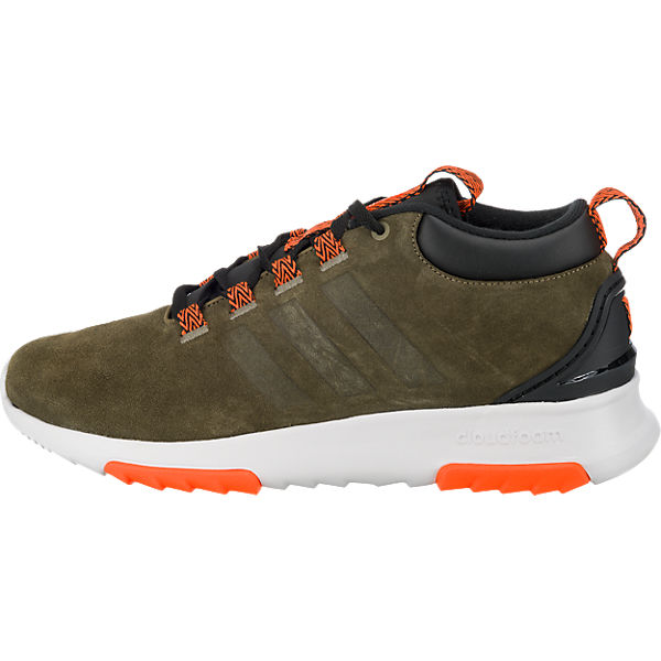 adidas NEO adidas NEO Cf Racer Mid Wtr Sneakers dunkelgrün