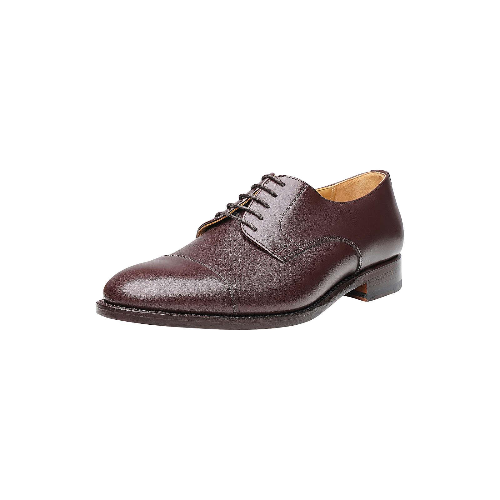 Shoepassion Businessschuhe No. 541 Business-Schnürschuhe dunkelbraun Herren Gr. 47