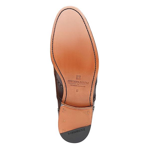 SHOEPASSION, SHOEPASSION No. 561 Business Schuhe, dunkelbraun     de6d00