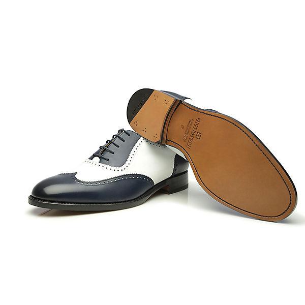 SHOEPASSION SHOEPASSION No. 387 Business Schuhe blau-kombi