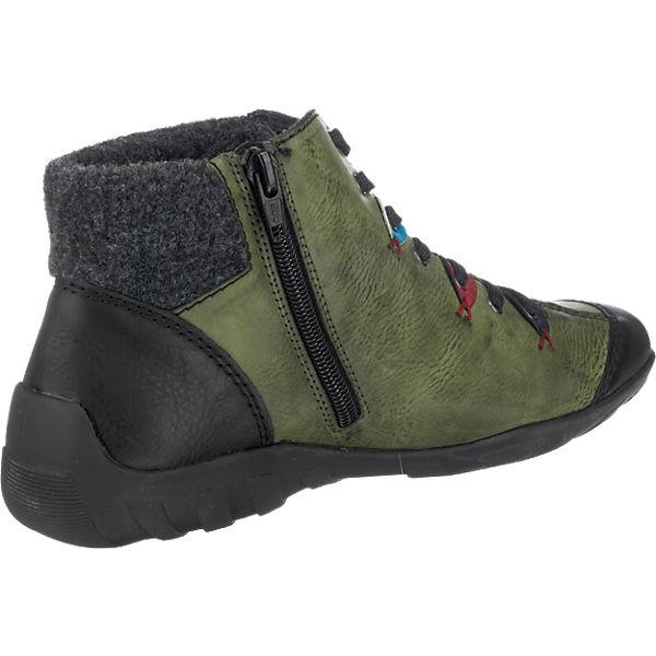 rieker, rieker Stiefeletten, grün-kombi beliebte  Gute Qualität beliebte grün-kombi Schuhe b74202